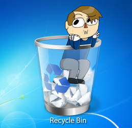 Recycle Bin by BaxterCoolGuy