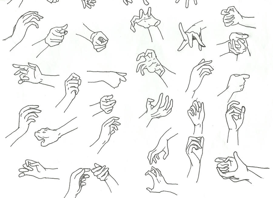 Heart Hands Drawing Practice Drawing Hand Part 2