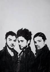Men from Mars by Modernmyth6277