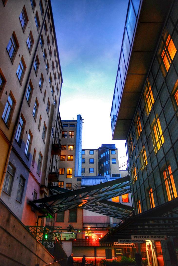 A night in Helsinki by Modernmyth6277