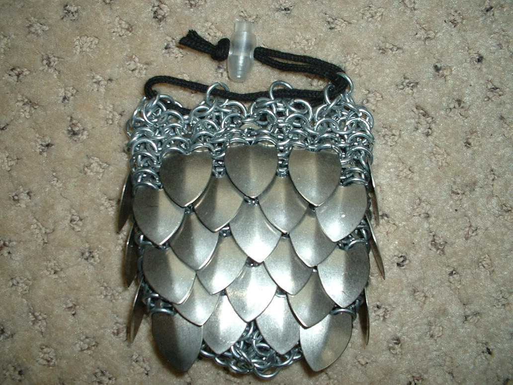 scalemail dice bag by ojive on deviantart