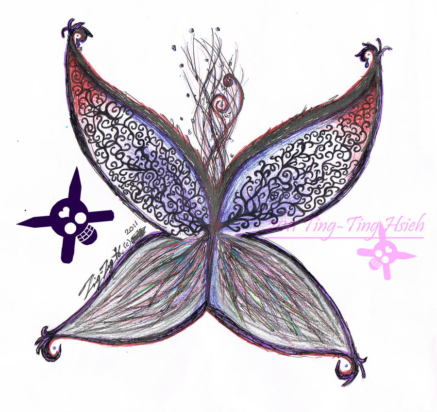 Gothic Butterfly Gothic Butterfly by Mu...