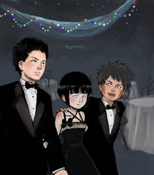 Team 8: Hinata's Dates by mausmouse