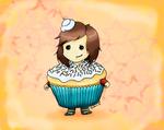 Pjollen cupcake