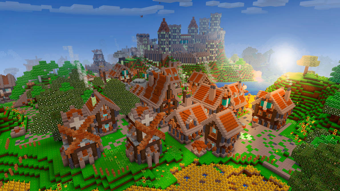 Adorable Village in RealmCraft Free Minecraft
