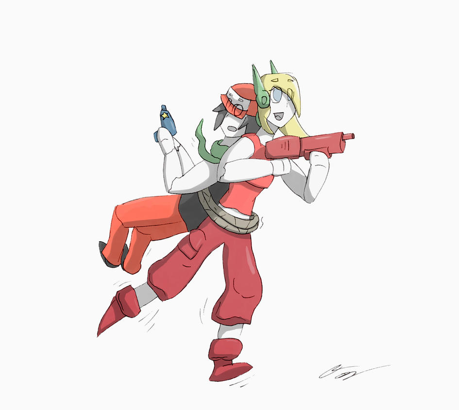 Cave story curly and quote by draxyle on deviantart cave story curly and quote by draxyle voltagebd Gallery