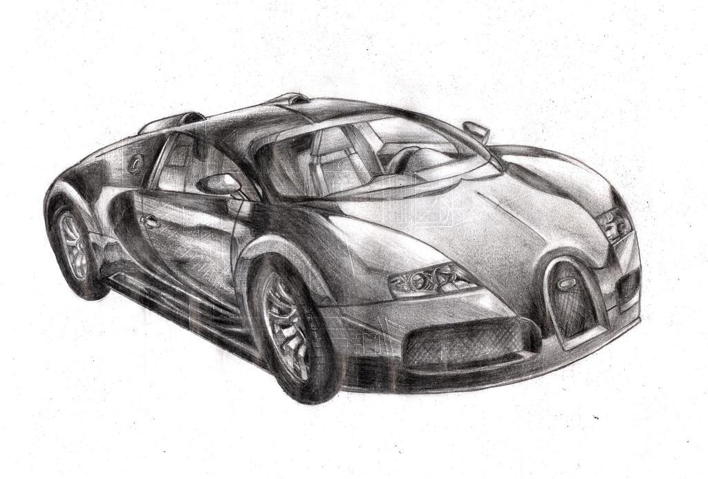 Bugatti Sketch 2011.. By Nickbrown85 On DeviantArt