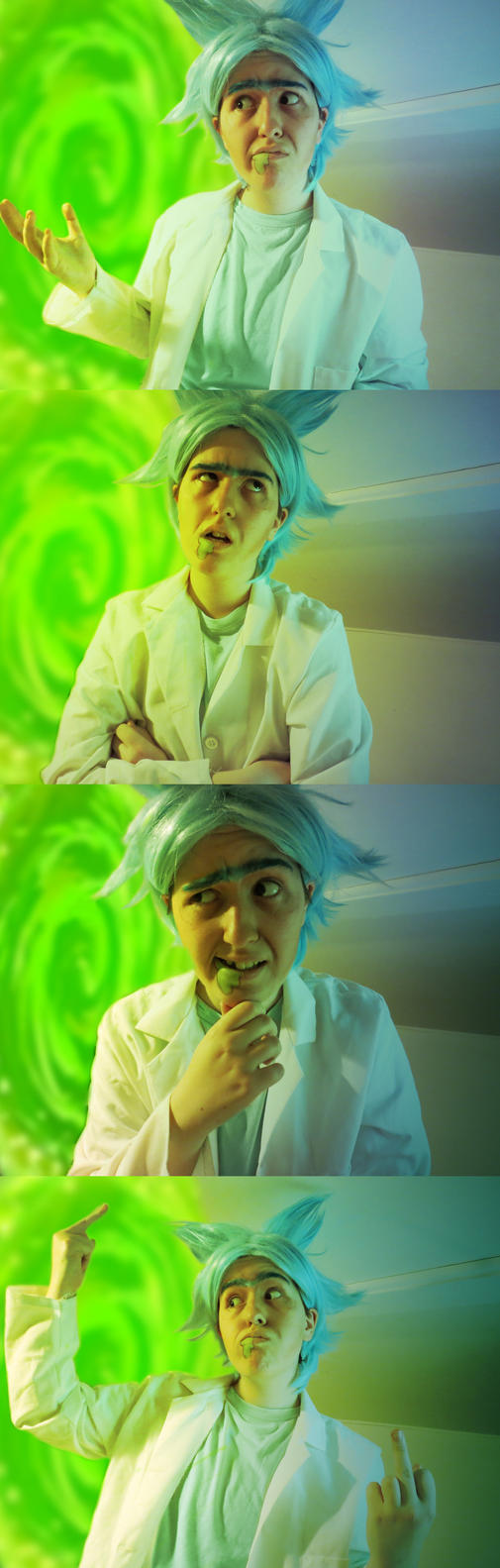Rick Sanchez Cosplay Test by NeoCaptain