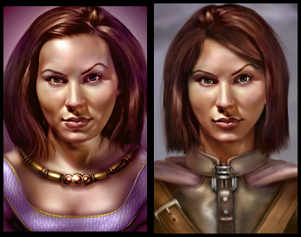Imoen, then and now v2.0 - younger by Syntia13