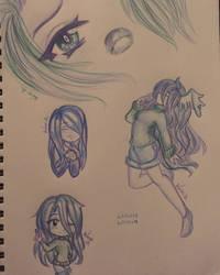 Color Pencil Doodle #1 by Akuma-Mana61