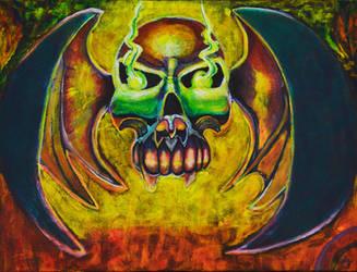 Skull with Wings by juanDanielgarcia
