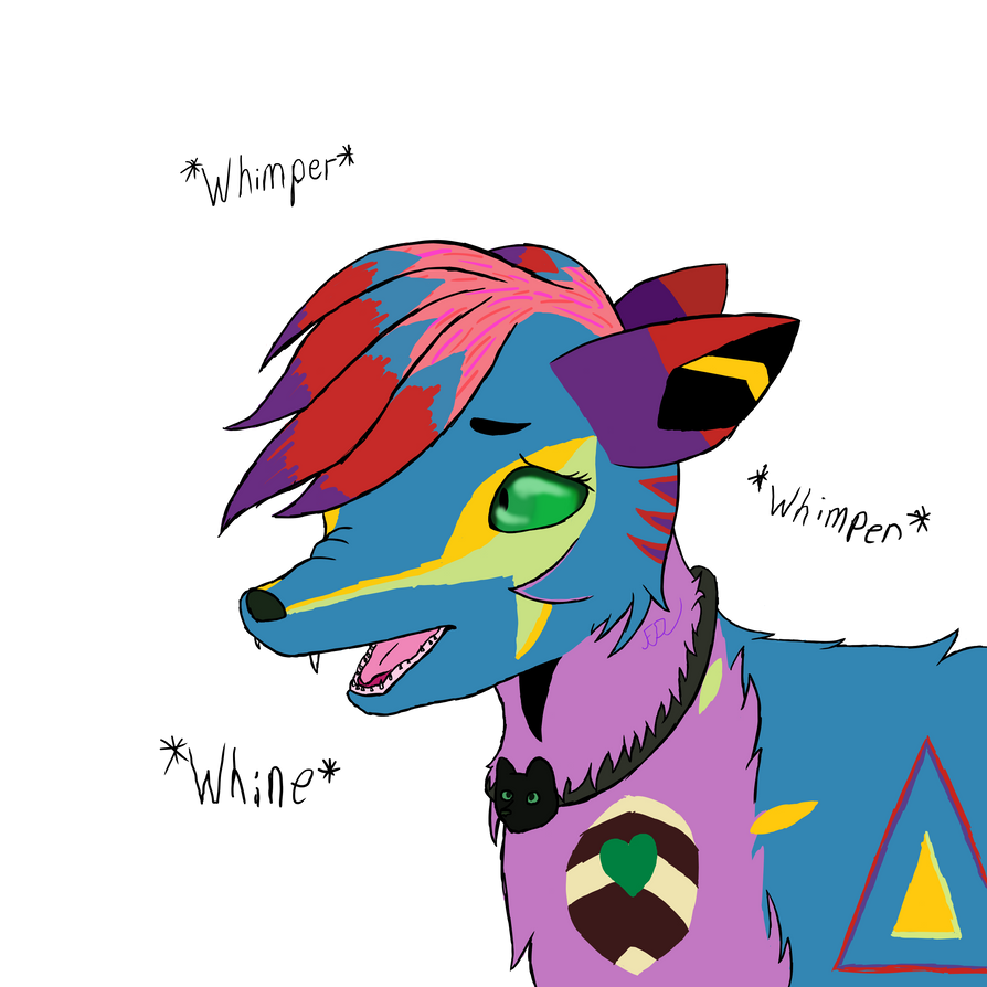 Gabby Scaredy Pup by Fezzynothing