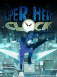 Super Hero Clock poster 2