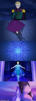 Male Elsa Let It Go - Disney Frozen Genderbend