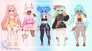 [CLOSED] Colorful Adopts 2