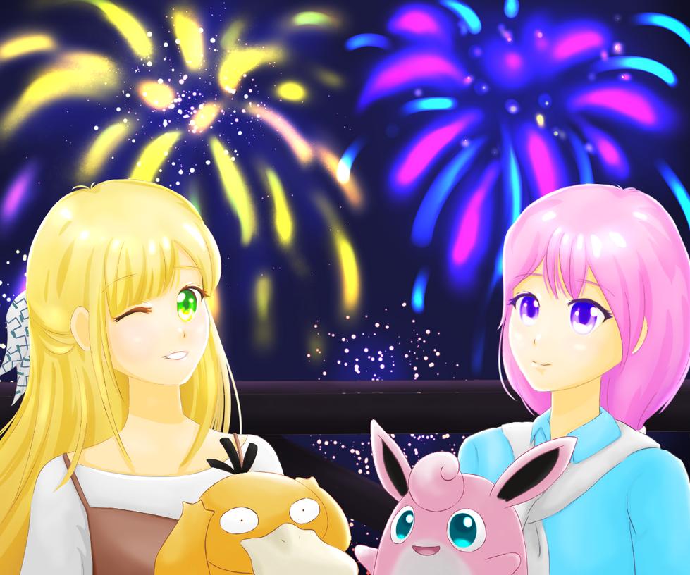 Firework by PinkLiu