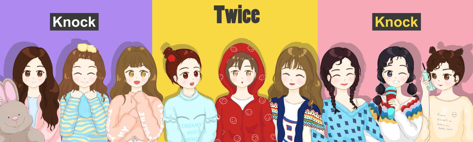 Twice-Knock Knock by PinkLiu