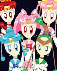 Sailor Quartet by 8Rini8