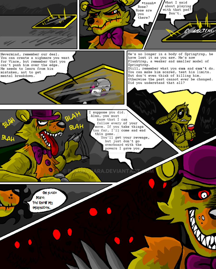 Out Of Order - A FNaF Comic - Ch. 2 P. 18 by Spacecat