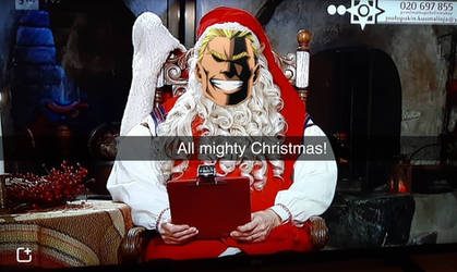All mighty Christmas! by BakuKuraRa