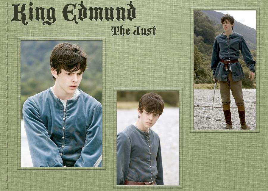 Narnia Wallpaper - King Edmund by BecomingaWallflower