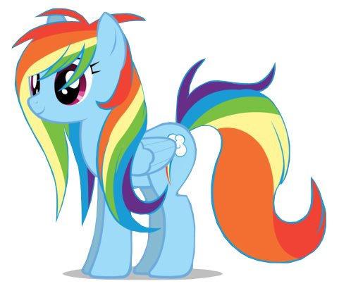 Rainbow Dash Crazy Hair Day By Sookeyvolt On Deviantart
