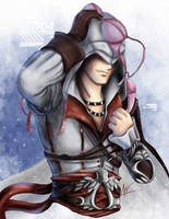 AC 2 - Ezio teh heartbreaker by hiddenmuse