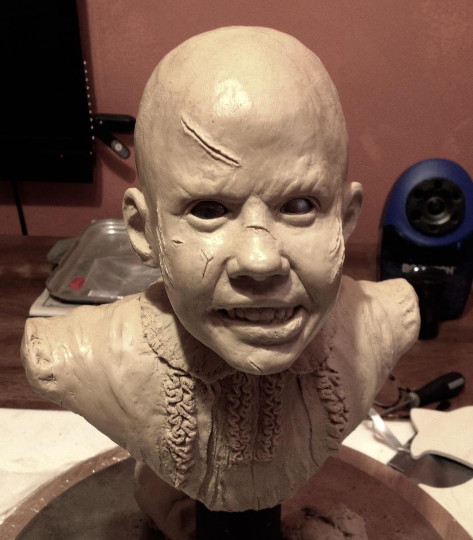 Mezco Exorcist Regan Living Dead Doll