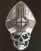 Ghost Papa Emeritus II drawing
