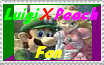 LuigiXPeach Fan Stamp by Z-ComiX