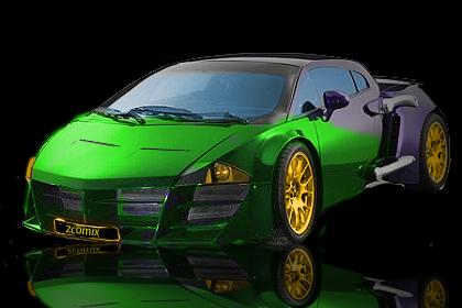 Taarzan - The Wonder Car by Z-ComiX