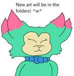 New Art In Folders