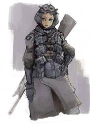 War Lady 0001 by wann89