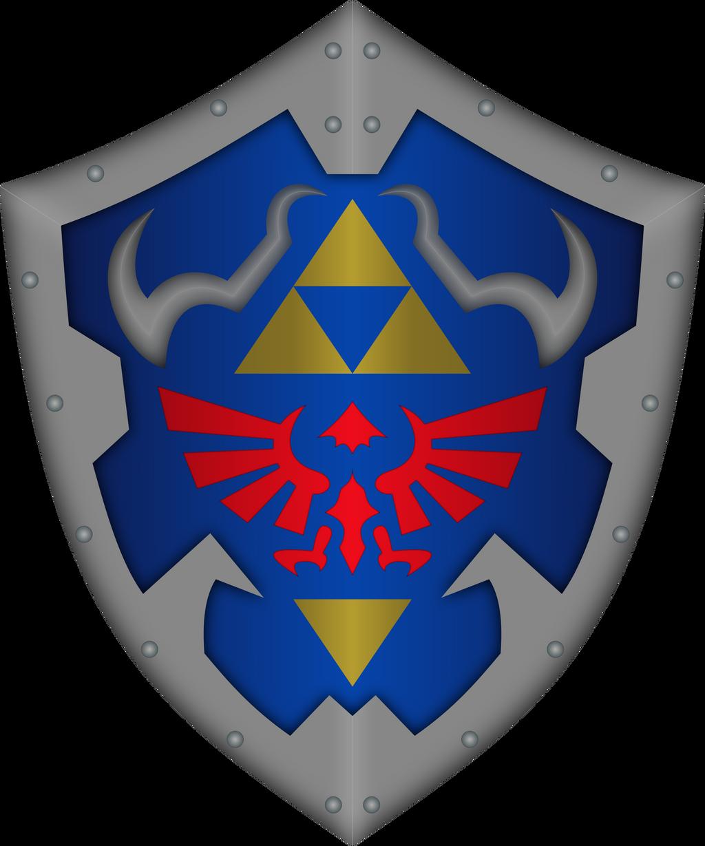 hylian shield by cencerberon on deviantart