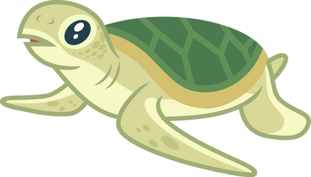 Baby Turtle (Light green) by CenCerberon
