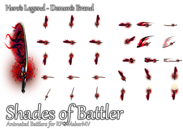 Preview Jp Rpg Maker Mv Update And New Characters: Demon's Brand By ShadowHawkDragon