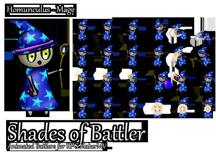 Preview Jp Rpg Maker Mv Update And New Characters: RPG Maker MV Battler