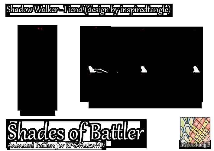 RPG Maker MV Battler - Shadow Walker: Fiend by