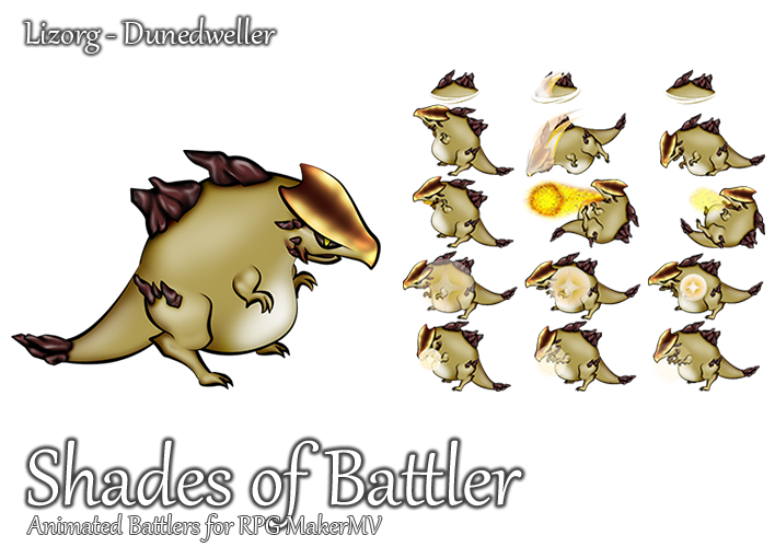 Preview Jp Rpg Maker Mv Update And New Characters: Lizorg: Dunedweller By