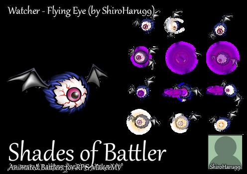 RPG Maker MV Battler - Watcher: Flying Eye