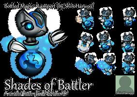 RPG Maker MV Battler - Bottled Magic: Lampert