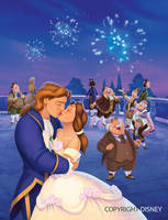 Disney Beauty and the Beast Book by WilliamFenholt