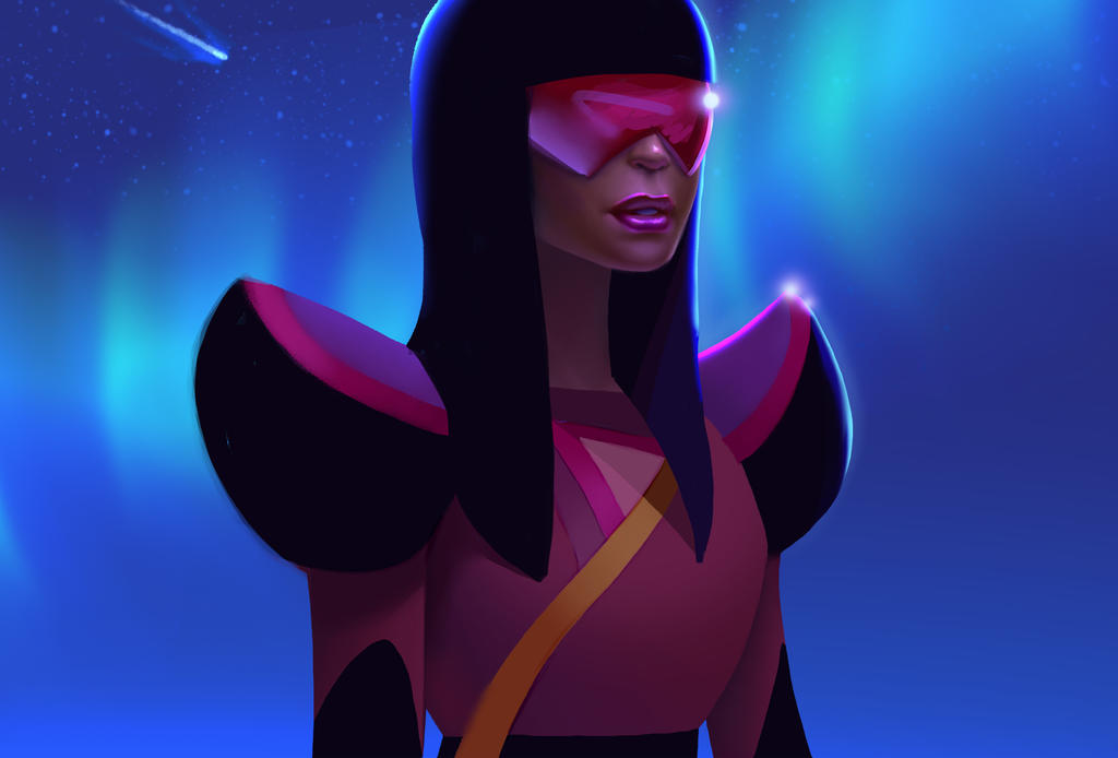Garnet from Steven Universe is the coolest looking cartoon character of all time. I'm seriously in love with this design.