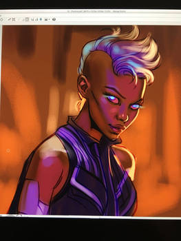 Storm-Today's Warmup Sketch