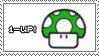 1-Up Mushroom by ImFeelingStampity