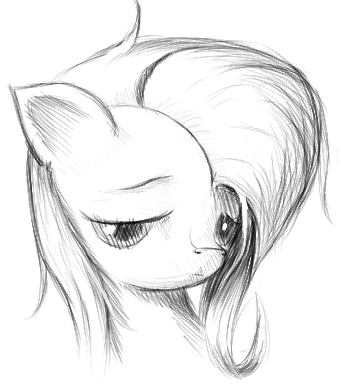 Why are you sad, Shy? by icefairy64