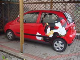 Shadow car by Sega-Club-Tikal