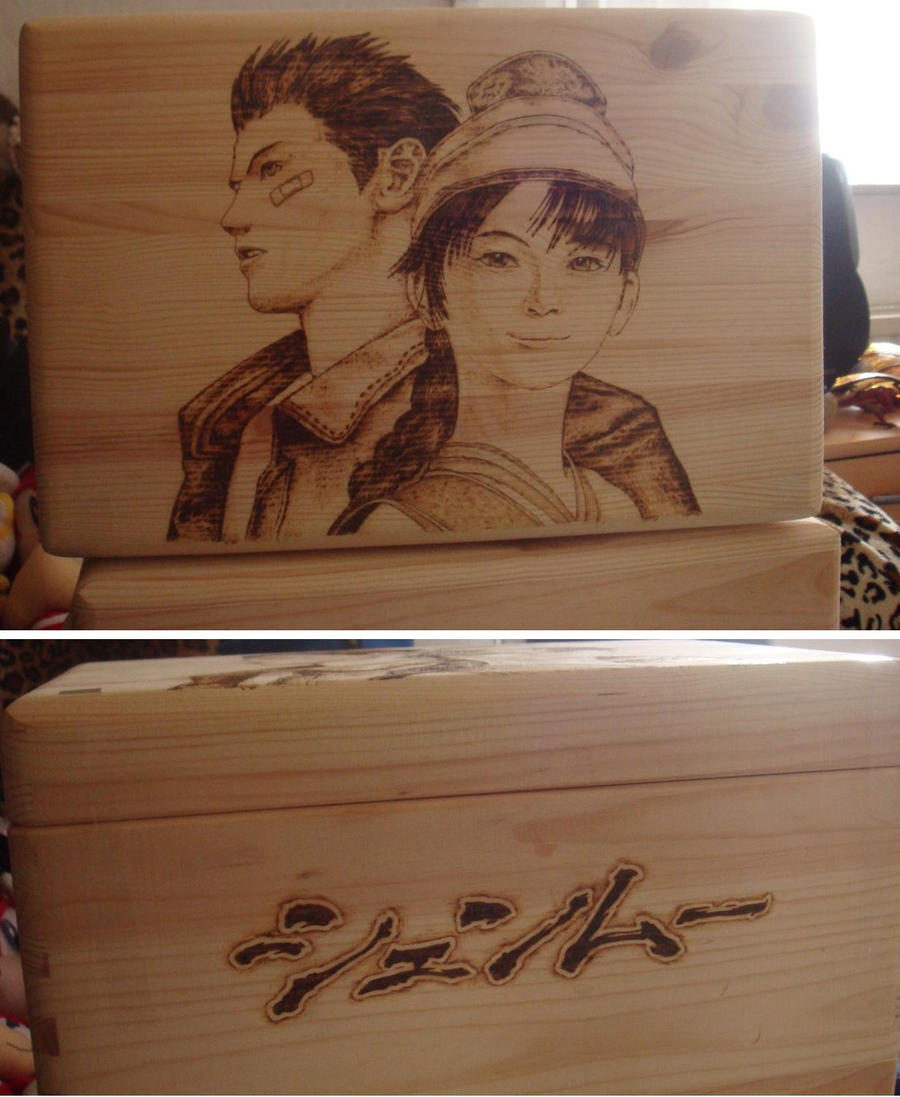 Shenmue Wood-Box by Sega-Club-Tikal