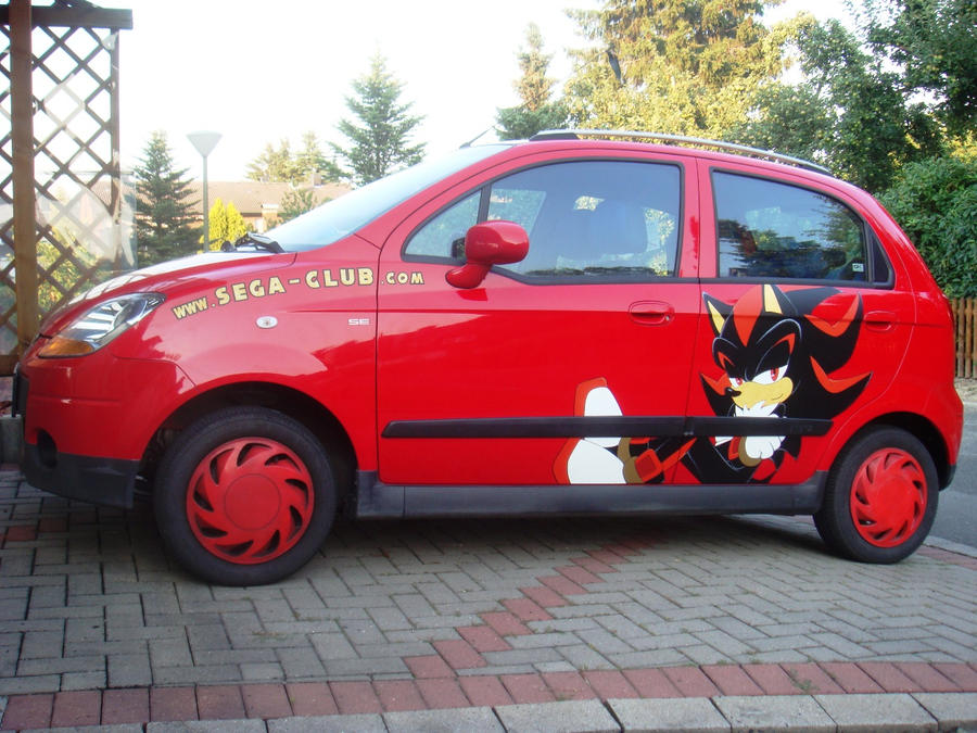 Shadow-Car 2.0 by Sega-Club-Tikal