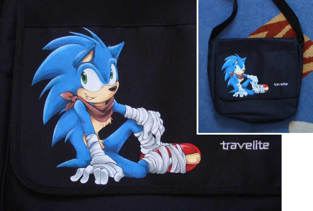 Sonic Boom Bag by Sega-Club-Tikal